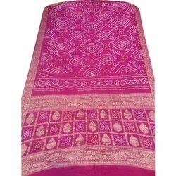 Banarasi Silk Bandhani Saree