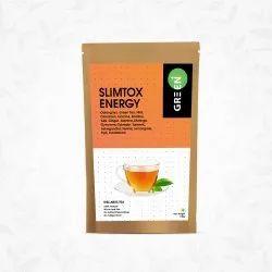 Budwhite Green+ Loose, Teabags SlimTox Energy Tea