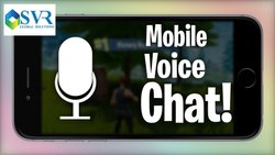 Mobile Voice Chat App