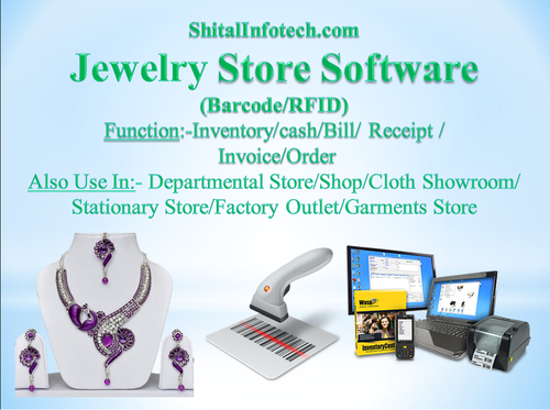 Jewellery Showroom Software With GST Barcode At Rs Unit - Jewelry invoice software