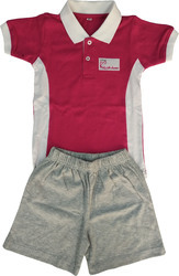 School T-shirt with Shorts