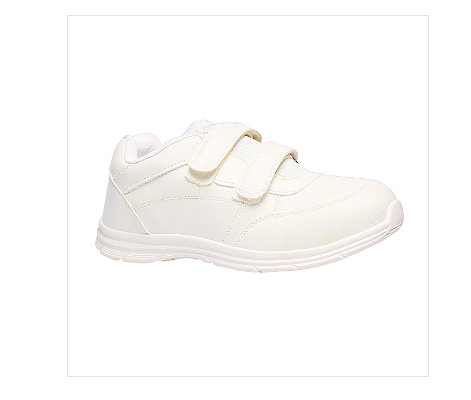 f1f420fe92ba Bata White School Shoes For Boys F831107500
