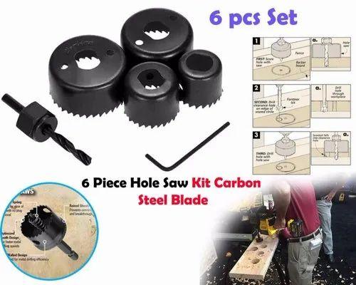 44mm 32mm 38mm 54mm Cutting Diameter Metal Drill Bit Hole Saw Set 6 in 1