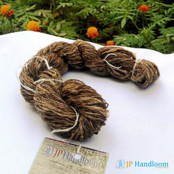 Tussah Handspun Natural Silk Yarn (No-103-B), For Weaving & Knitting