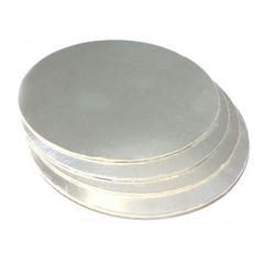 Silver Foil Round Cake Base Board