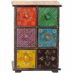 Rectangular 10 X 9 Inch Sheesham Wooden Jewellery Box