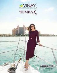 Tumba mirror kurti by Vinay