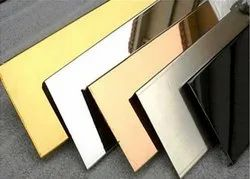 304 Gold Finish Stainless Steel Sheet
