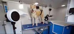 Mobile Pet Grooming Van