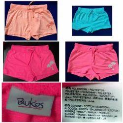 Girls Loopknit Shorts