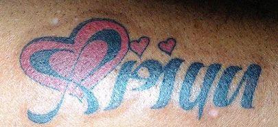 Sri Anjani Arts Bengaluru Service Provider Of Heart Shape Tattoo And Guitar Shape Tattoo