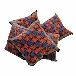 Handblock Bagru Design Cushion Cover 305