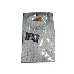 R B Brand Cotton Mens Dot Printed Shirt