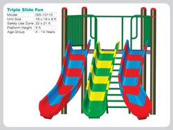 Triple Slide Fun