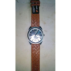 Mens Leather Fastrack Watch
