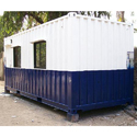Painted Portable Cabin