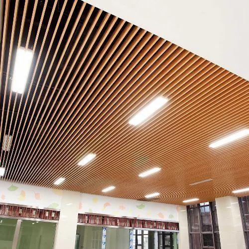 Sonex Metal Baffle Ceiling System Rs 1200 Square Meter