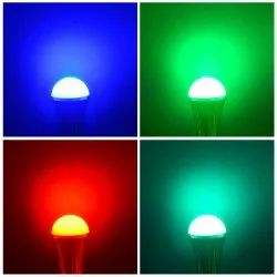 7 Colour Changing Prodolites 7w Multicolour Bulb