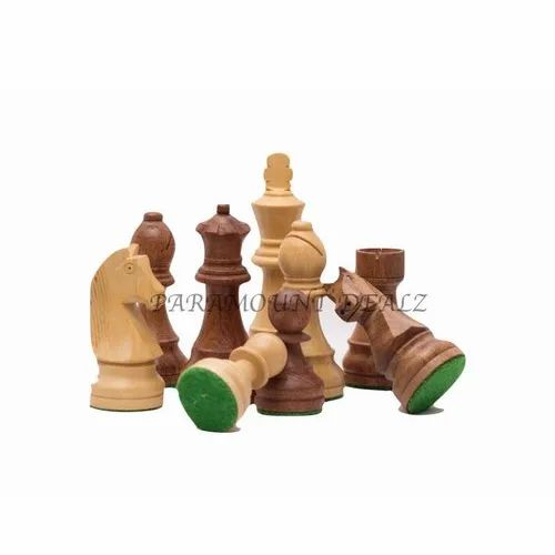 Wooden Staunton Chess Pieces