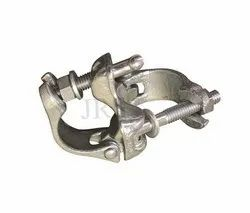 Mild Steel Color Galvanized British Type Right Angle Coupler(EN-8 Material) JRS Scaffolds, 0.75 Kg, Size: 48.3x48.3 Mm