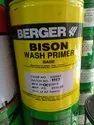 Yellow 9 - 10sqmtr Berger Bison Wash Primer, For Brush Or Convenstional Spray