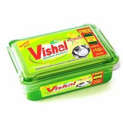 Vishal Solid Dish Wash Bar 200 Gram, Packaging Type: Box