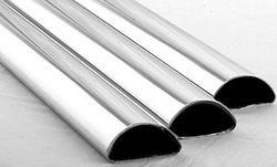 Stainless Steel Half Round Tubes