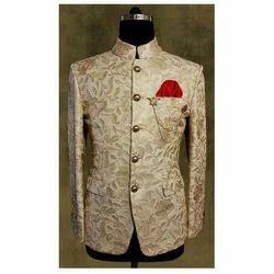 Groom Wear Terry Rayon Trendy Jodhpuri Coat, Size: S-XL