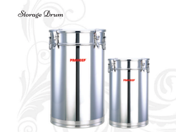 Stainless Steel Storage Drum