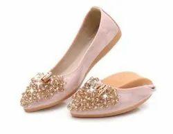PVC Formal Ladies Fancy Shoes