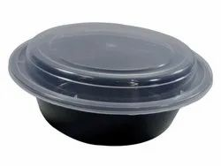2500 ML Moulded Round Plastic Food Container