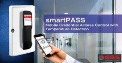 Made In India Smartpass Temperature Detection Mobile Barcode Reader Access Control And Attendance