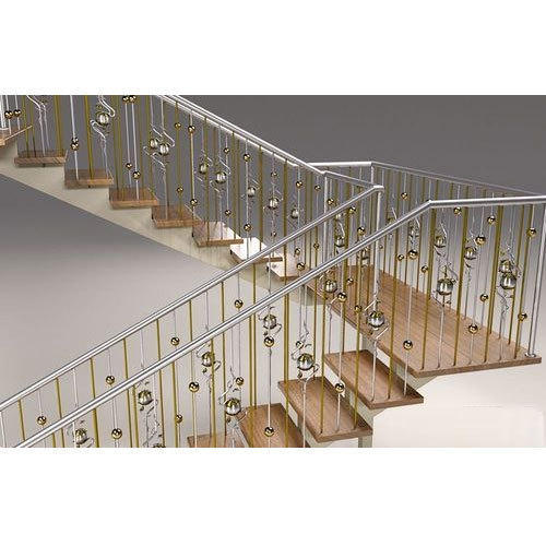 Charmant Designer Stainless Steel Stair Railing