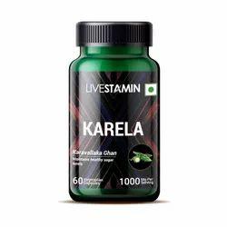 Karela Capsules Herbal Bitter Gourd Supplement