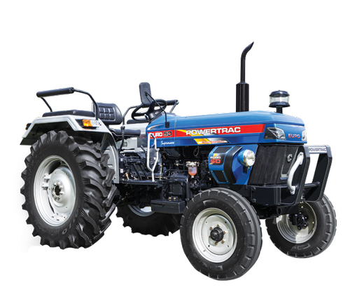 Powertrac Euro 50, 50 hp Tractor, 1500 kg, Price from Rs.636000/unit onwards, specification and features