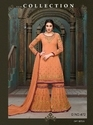Georgette Embroidered Party Wear Salwar Kameez