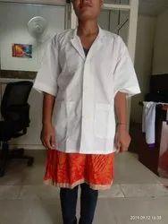 UNISEX WHITE LAB COAT, For Laboratory, Machine wash