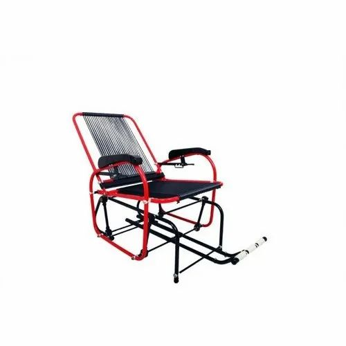 Leather Fixed Arms Relaxation Yoga Chair