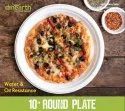 Dinearth Round Plate 6, 7, 9, 10.