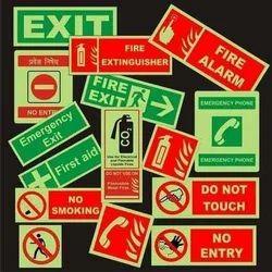 RADIUM Safety Signage