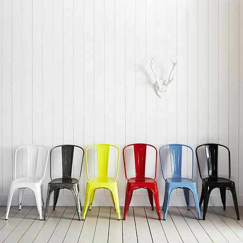 Metal Cafe Chair for Restaurant