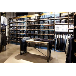 Mens Garment Display Rack