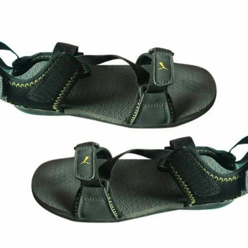 da9ca891da421f Puma Daily Wear Gents Black Floaters Sandals