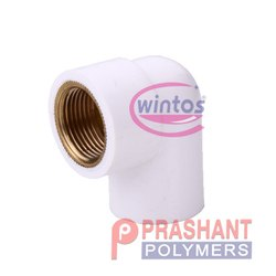 90 Degree UPVC Brass Elbow