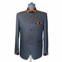 Designer Grey Jodhpuri Coat