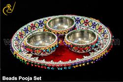 Beads Pooja Set