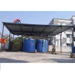 Prefabricated MS Roofing Shed