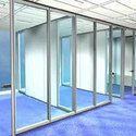 Aluminium Glass Door Partition