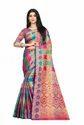 Ethnic Patola Silk Saree