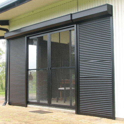 Full Height Automatic Security Shutter